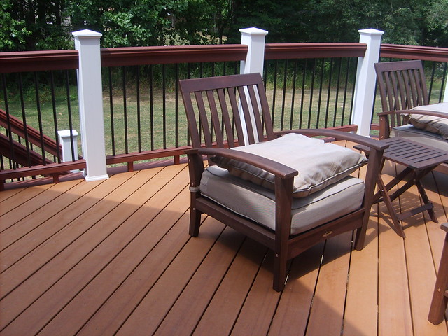 Pictures Of Sundecks Stairs And Benches: Trex Deck, Deckorator Balusters