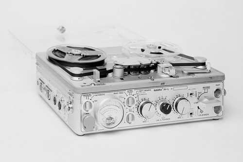 It's a Nagra.  Swiss and very precise.