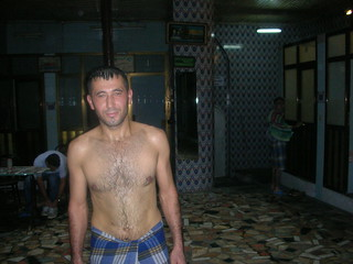 In the Hamam. Istanbul Turkey