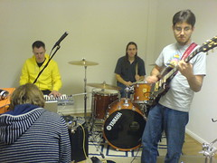 Jamming in the Practice room #1