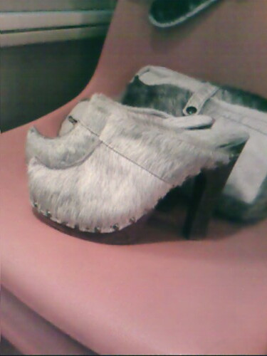 Clog Shoes From The  S