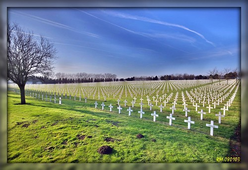 1290 War Graves in La Targetta, France