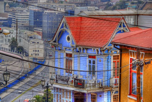 Architecture, Valparaiso, Chile