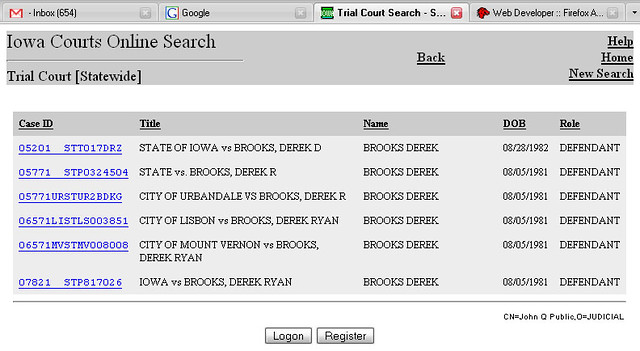 My Iowa Courts Online Record | My Iowa Courts Online Record