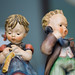 Boy and Girl Hummel Figurines