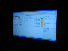 presentation(0.0), brand(0.0), text(1.0), operating system(1.0), multimedia(1.0), display device(1.0), computer monitor(1.0), screenshot(1.0), computer program(1.0), blue(1.0),