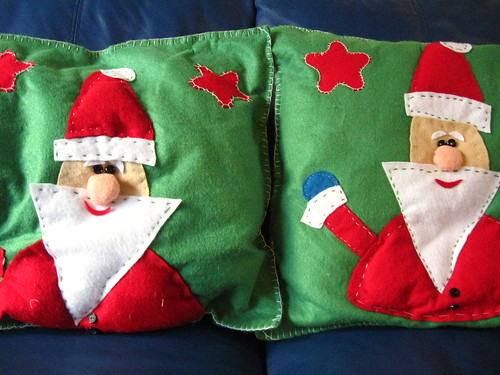 Homemade Pillows....
