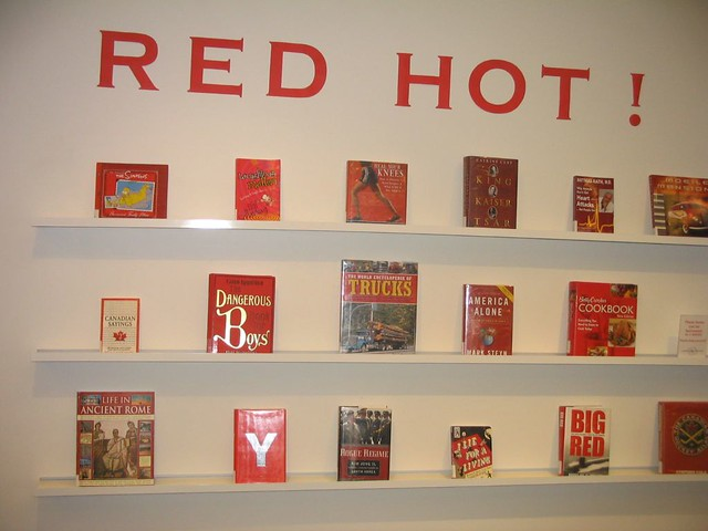 Red Hot! book display