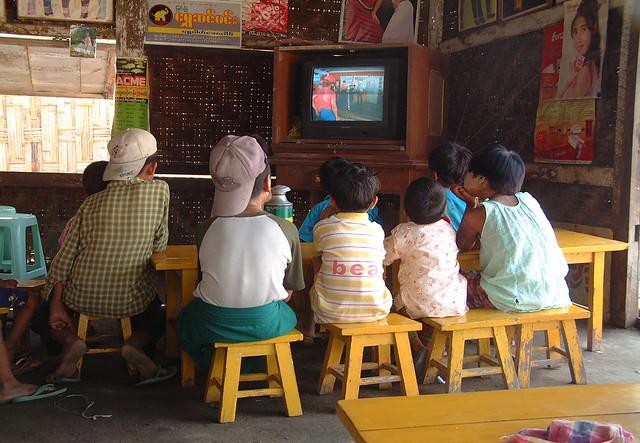 Sagaing, mars 2006