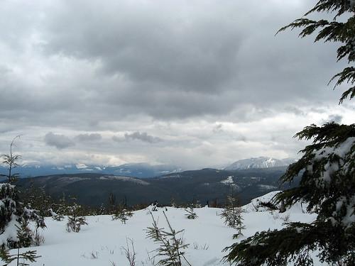 geocaching mmm snowshoeing bushwhacking