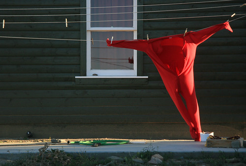 Red Long Johns, California