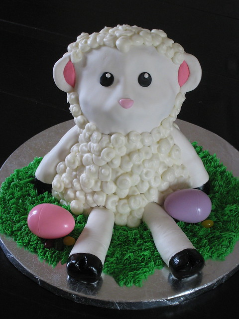 Easter Lamb Cake | Flickr - Photo Sharing!