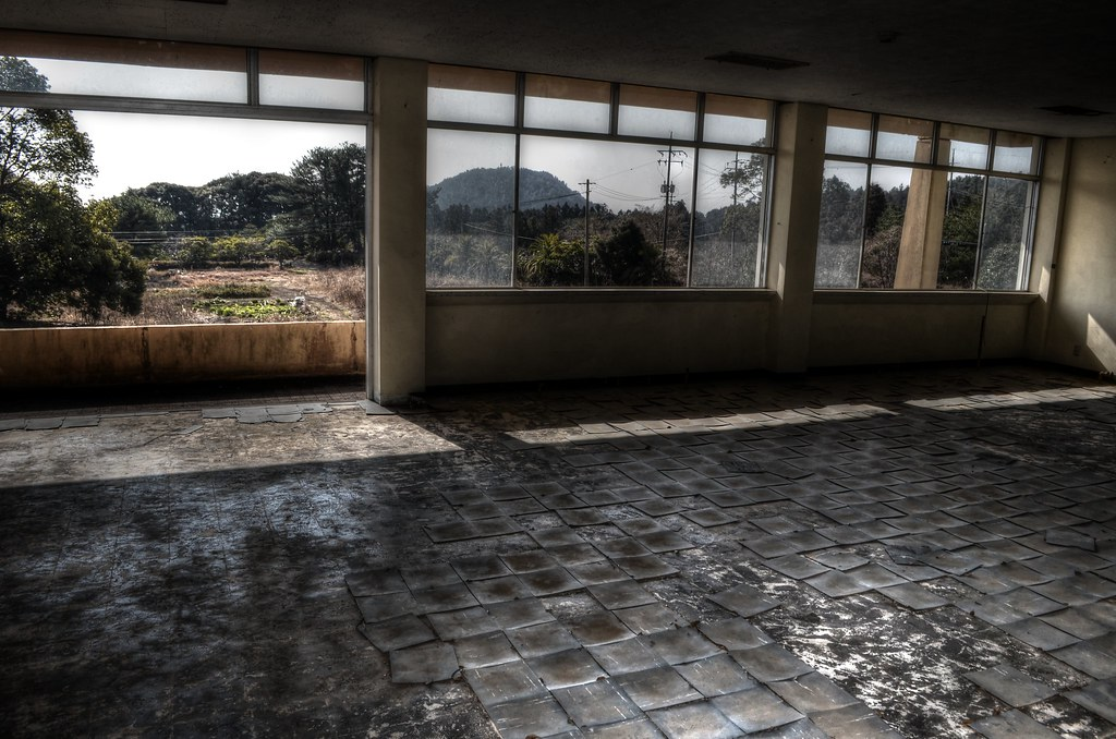 Abandoned School, Jeju, South Korea07