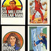 Bionic Woman - Six Million Dollar Man - Cereal Premium Stickers - 1973 by JasonLiebig