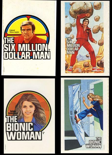 Bionic Woman - Six Million Dollar Man - Cereal Premium ...