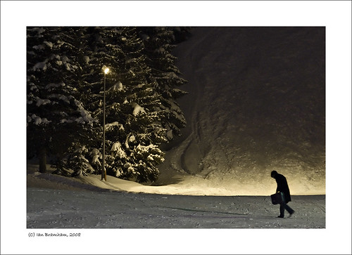 street urban snow ski france mountains alps night photography photo nikon fineart explore courchevel d40 70300vr ianbramham