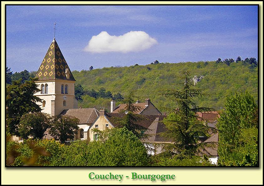 Вокруг Дижона - La Route des Grands Crus - Couchey
