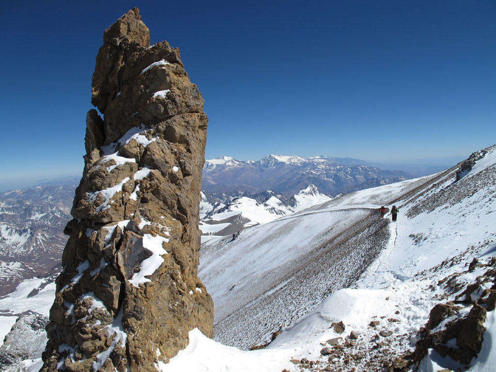 Calendar Itinerary Planner : Guided seven summits ascent and expedition aconcagua