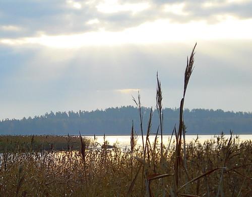 autumn sea fall water finland october meri vesi syksy lokakuu rönnäs sirkku