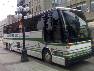 Charter Bus Lines at Waterfront Station Bus WiFi