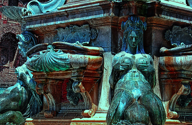Bologna. Fontana di Nettuno