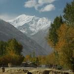 Snow, Blue Skies, Agricultural Field - Langar, Tajikistan