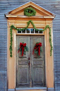 Historic Holiday Door