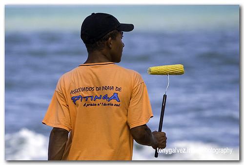 Brasil 10: vendedores ambulantes en las playas