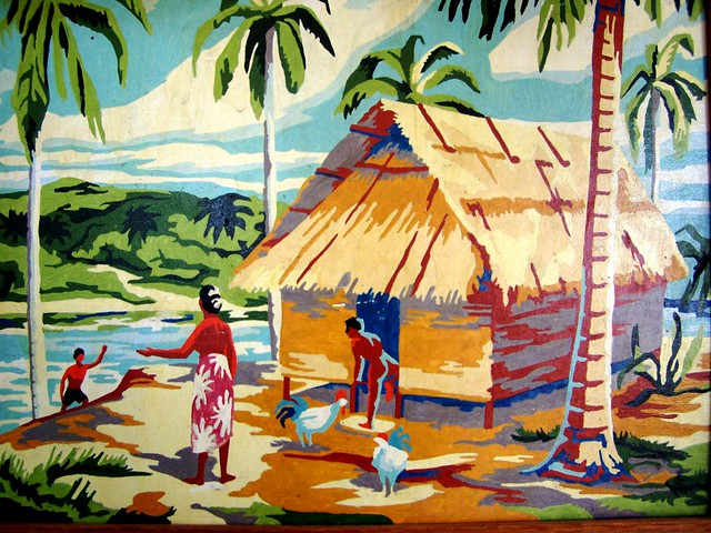 paint by numbers- tahiti