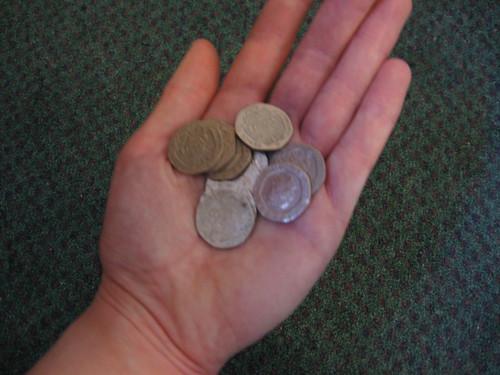 Fistful of Twenty Pence