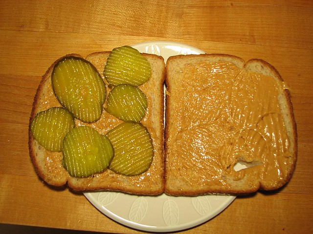 peanut butter pickle sandwich flickr photo sharing. Black Bedroom Furniture Sets. Home Design Ideas