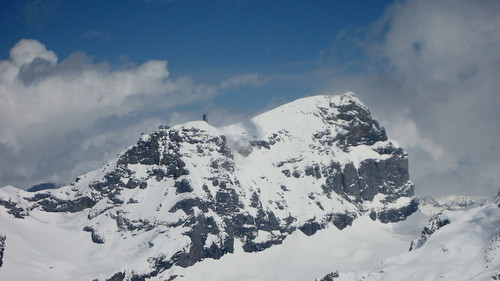 Klein Titlis und Titlis im Kanton Bern / Obwalden in der Schweiz