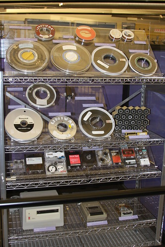 Image of tape storage.