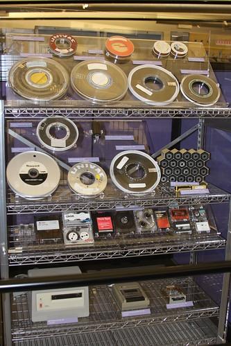 Image of tape storage.