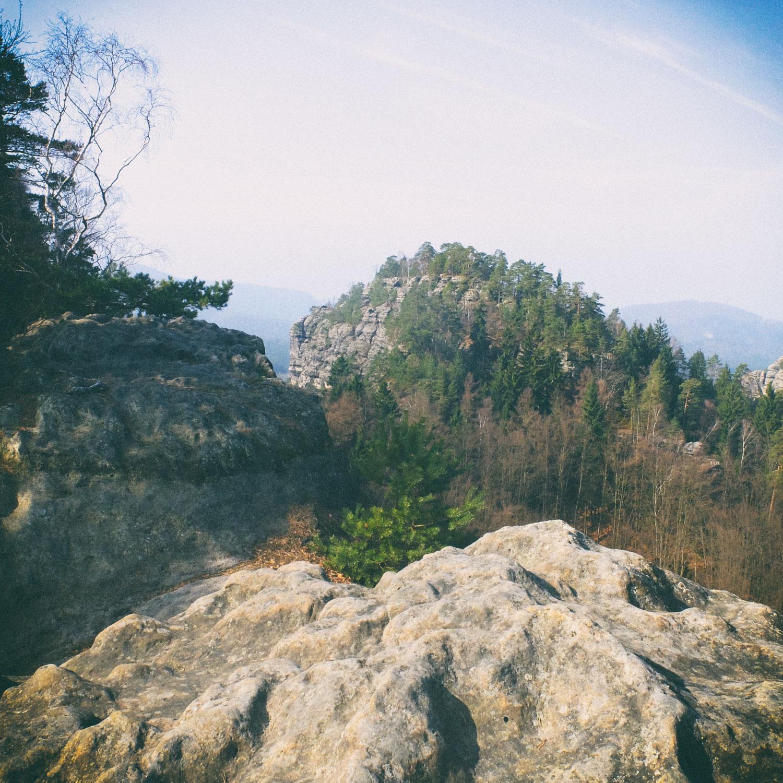 Auf dem Teichstein