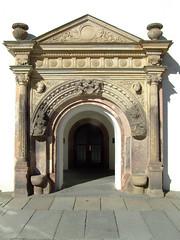 ancient roman architecture, arch, architecture, stone carving, facade, column, triumphal arch,