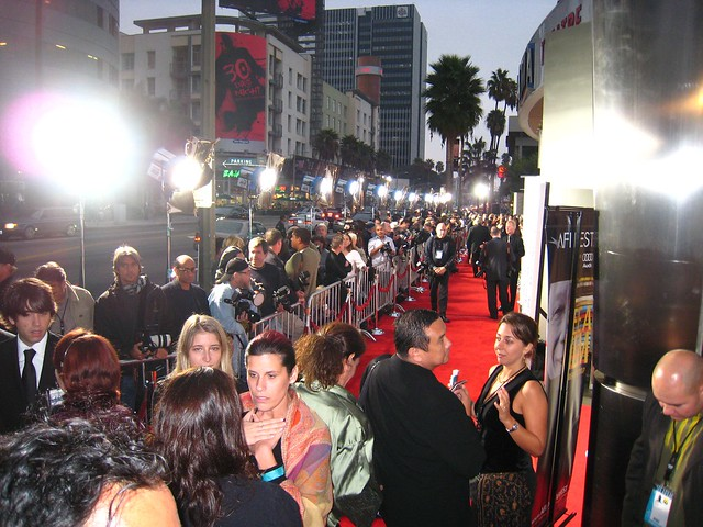 Red carpet.