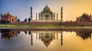 Farewell India - The Taj Mahal