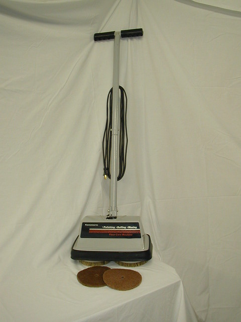 sears floor buffer machine