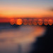 seaside sunset bokeh by the half-blood prince
