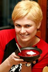 delicious, nutritious, beet borscht!    MG 9219