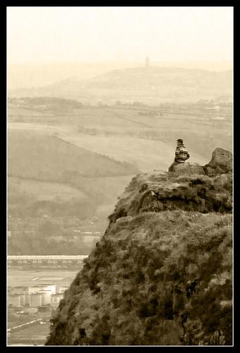 sepia belfast northernireland viewpoint scrabotower 10faves mcartsfort naturesgallery cavehillcountrypark