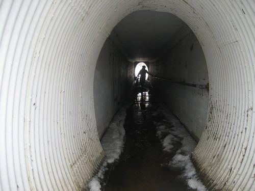 Slick-50 ice tunnel