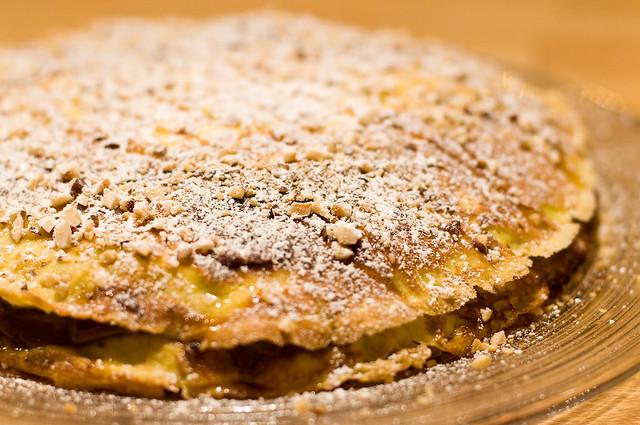 No. 6: Chocolate and banana pancakes (the cake) | Recipe (se ...