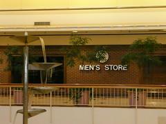 Overland Park, KS Metcalf South Shopping Center (a dead mall) Men's Store