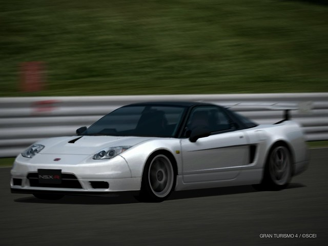 Honda NSX Type R GT http://www.flickr.com/photos/bkm_gt/2360838308/
