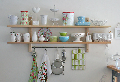 Spring inspired shelfs