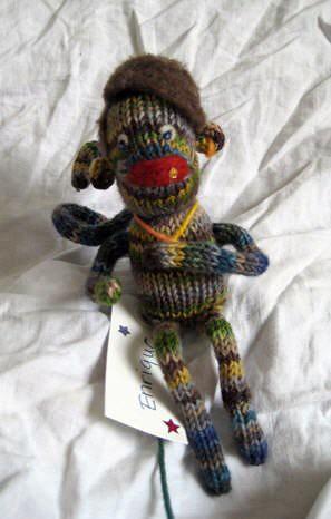 Enrique - BFMA sock monkey