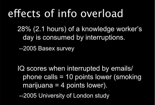 Coping with Information Overload, InfoPeople webinar featuring Sarah Houghton-Jan