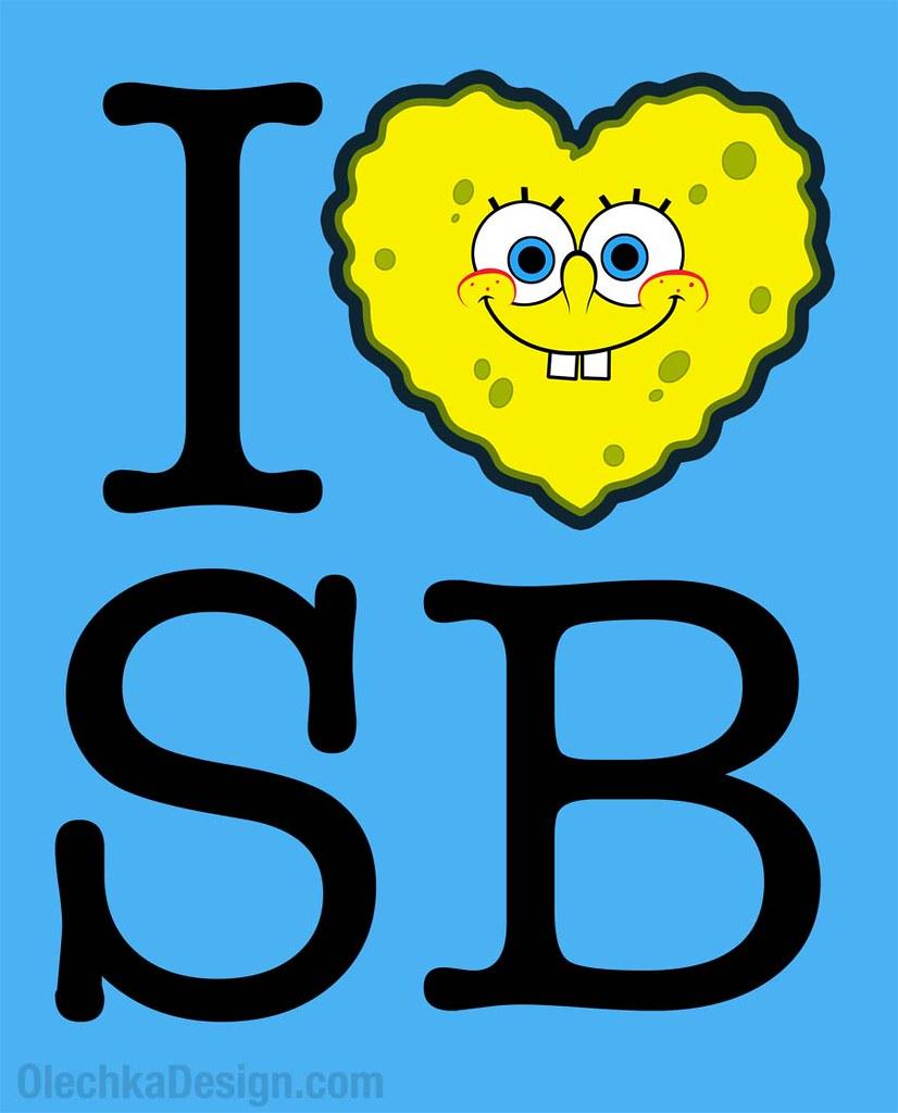 I Heart LOVE SpongeBob
